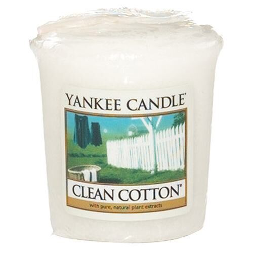 Clean Cotton Sampler Votive Candle