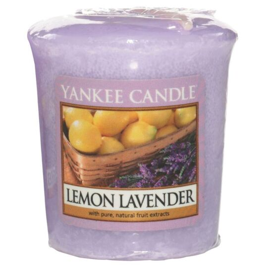 Lemon Lavender Sampler Votive Candle