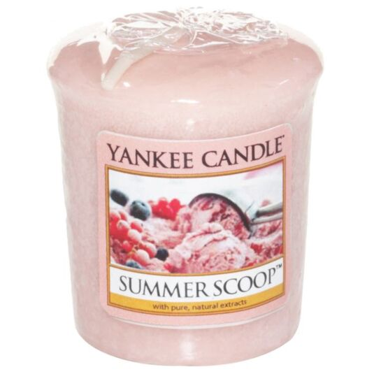 Summer Scoop Sampler Votive Candle