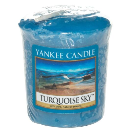 Turquoise Sky Sampler Votive Candle