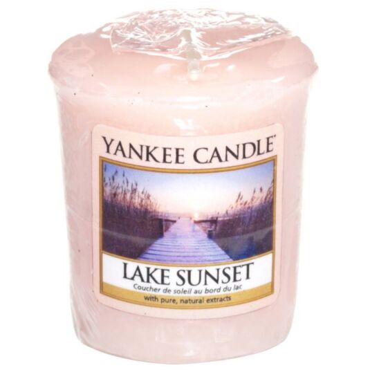 Lake Sunset Sampler Votive Candle