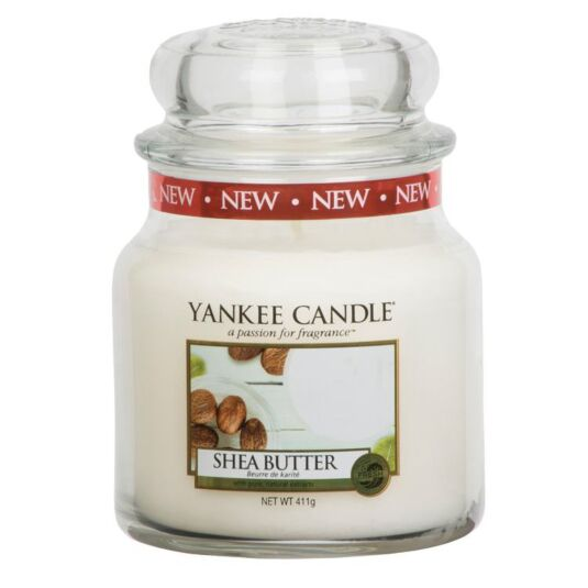 Shea Butter Medium Jar Candle