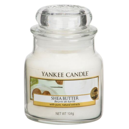 Shea Butter Small Jar Candle