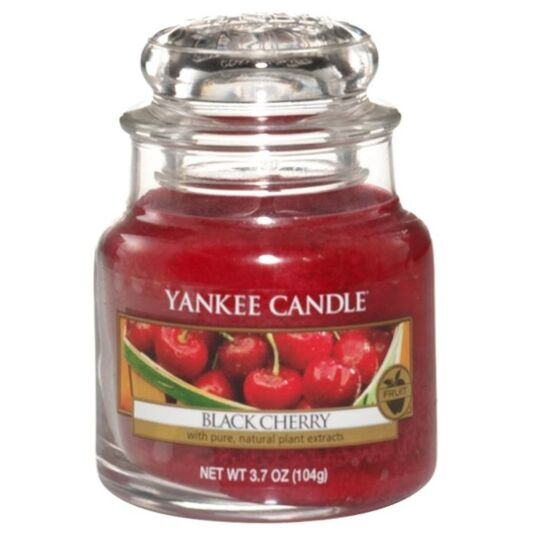 Black Cherry Small Jar Candle