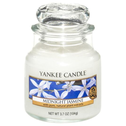 Midnight Jasmine Small Jar Candle