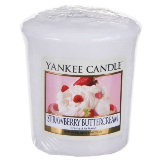 Strawberry Buttercream Sampler Votive Candle