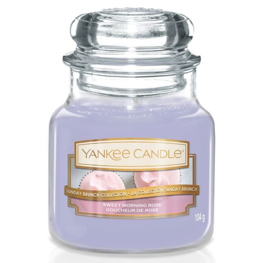 Sunday Brunch Sweet Morning Rose Small Jar Candle