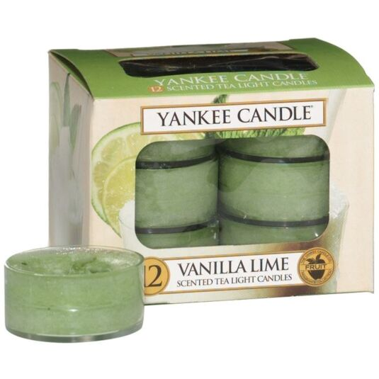 Vanilla Lime Pack of 12 Tealights