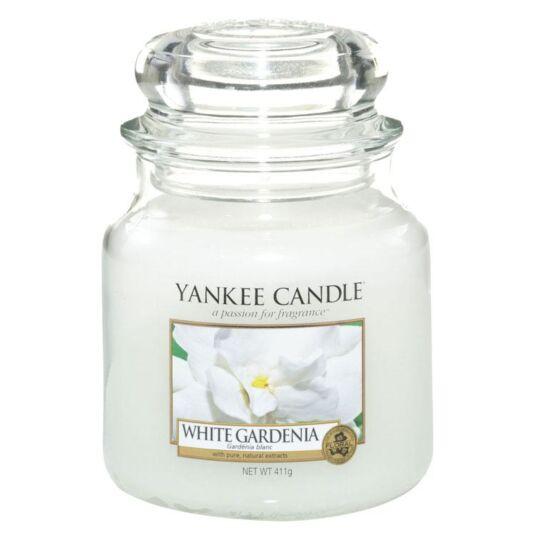 White Gardenia Medium Jar Candle