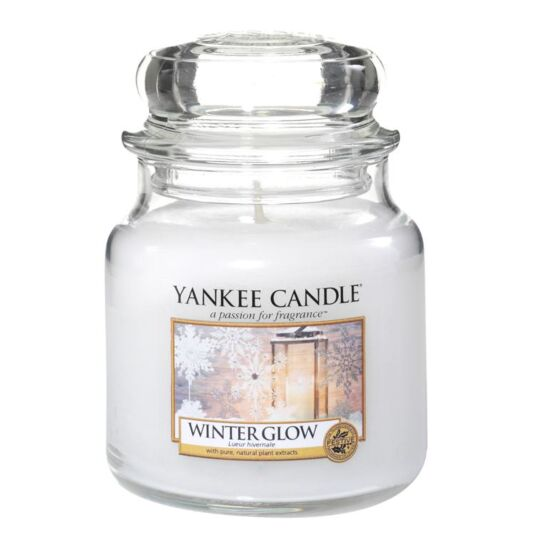 Winter Glow Small Jar Candle
