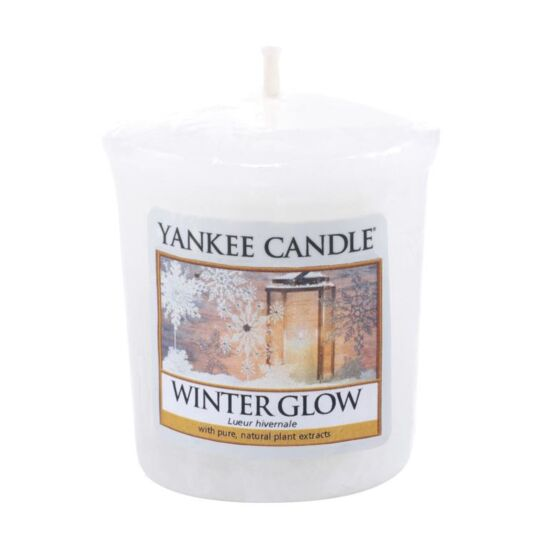Winter Glow Sampler Votive Candle