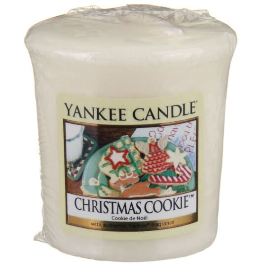 Christmas Cookie Sampler Votive Candle