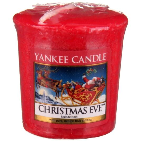 Christmas Eve Sampler Votive Candle