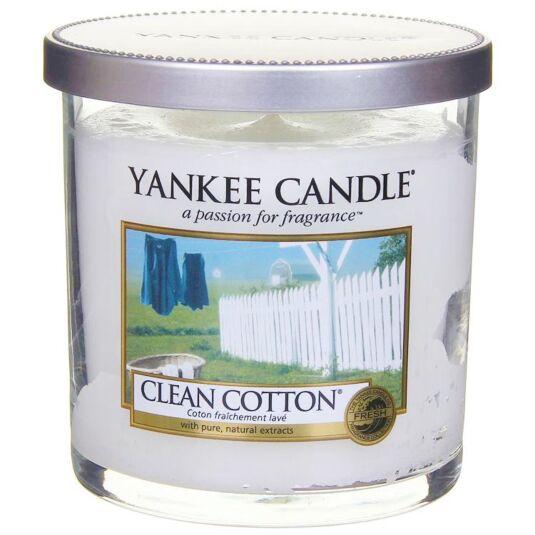 Clean Cotton Décor Small Pillar Candle