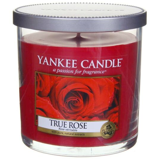 True Rose Décor Small Pillar Candle