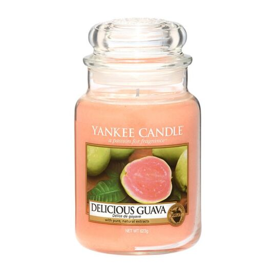 Delicious Guava Large Jar Candle