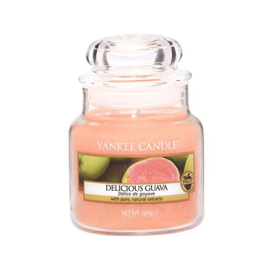 Delicious Guava Small Jar Candle