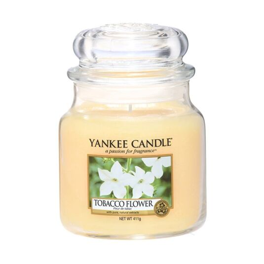 Tobacco Flower Small Jar Candle