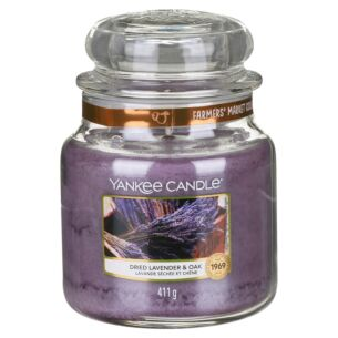 Dried Lavender & Oak Medium Jar Candle