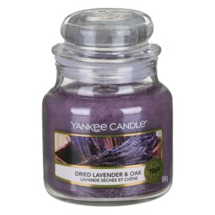 Yankee Candle Dried Lavender & Oak Small Jar Candle