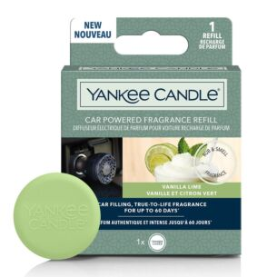 Yankee Candle Vanilla Lime Car Powered Fragrance Diffuser Refill