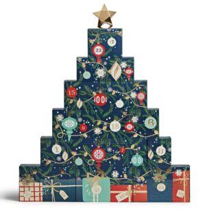 Countdown to Christmas Advent Calendar Tree