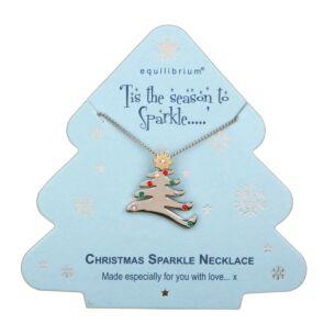 Season to Sparkle Tree Necklace