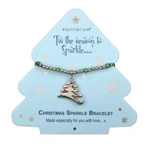 Season to Sparkle Tree Bracelet