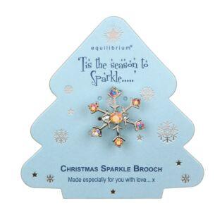 Season to Sparkle Snowflake Brooch