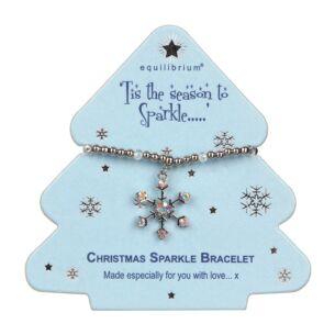 Season to Sparkle Snowflake Bracelet