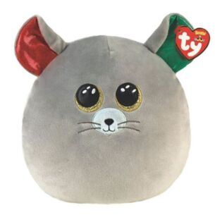 """Chipper Mouse 14"""" Christmas Squishaboo"""
