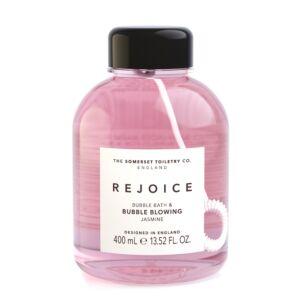 Rejoice Jasmine Bubble Bath & Bubble Blower 400ml