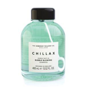 Chillax Seabreeze Bubble Bath & Bubble Blower 400ml