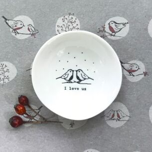 East of India 'I Love Us' Small Wobbly Bowl