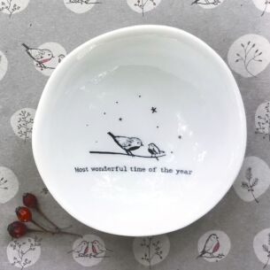 East of India 'Most Wonderful Time of The Year' Medium Wobbly Bowl