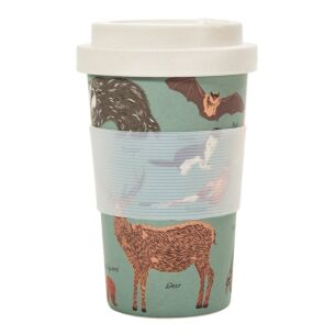 Olive Woodland Bamboo Travel Cup