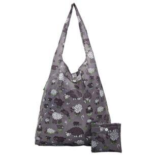 Grey Sheep Recycled Foldaway Shopper Bag