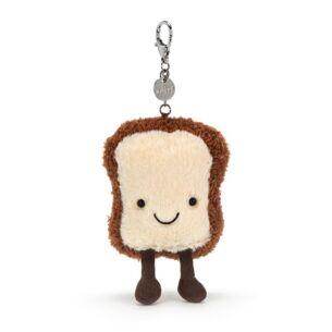 Jellycat Amuseables Toast Bag Charm