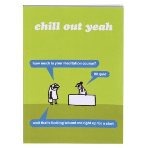 'Chill Out' A6 Lined Notebook