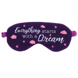 Aroma Home 'Everything Starts with A Dream' Felt Eye Mask
