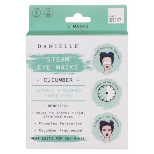 Cucumber Steam Eye Masks Set of 5
