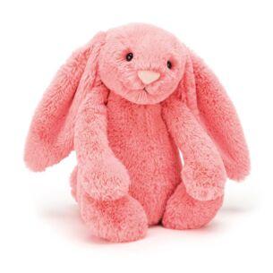Jellycat Medium Bashful Coral Bunny