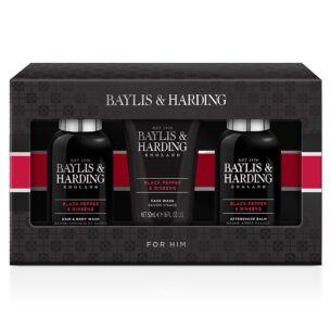 Men's Black Pepper & Ginseng Trio Gift Set
