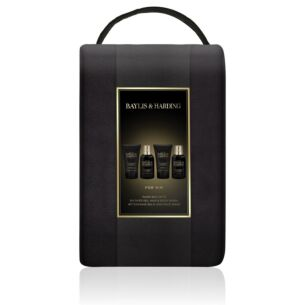 Baylis & Harding Men's Black Pepper & Ginseng Wash Bag Gift Set