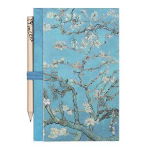 Handbag Van Gogh Notebook & Pencil