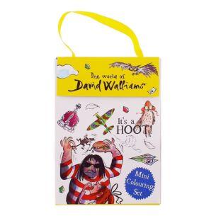 The World of David Walliams Mini Colouring Set