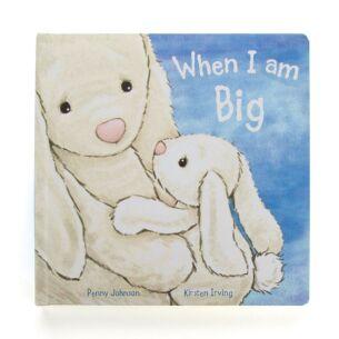 Jellycat Bashful Bunny When I am Big Hardback Book