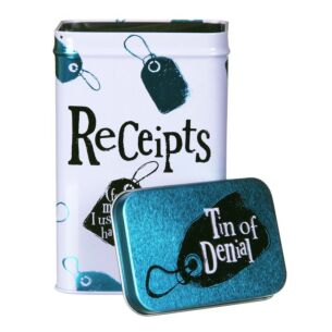 Receipts (Tin of Denial)