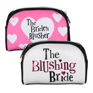 The Bright Side Blushing Bride Cosmetic Bag