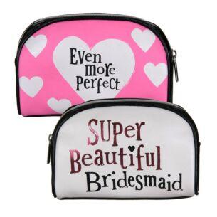 Super Beautiful Bridesmaid Cosmetic Case
